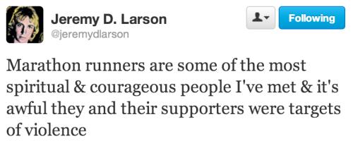 Jeremy Larson tweet