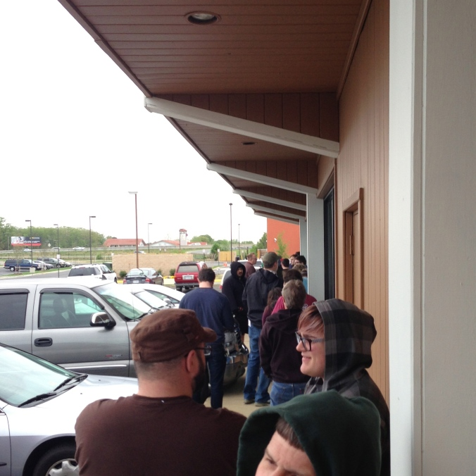 Record Store Day line