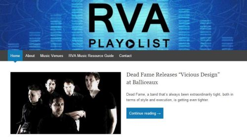 RVA Playlist Dead Fame