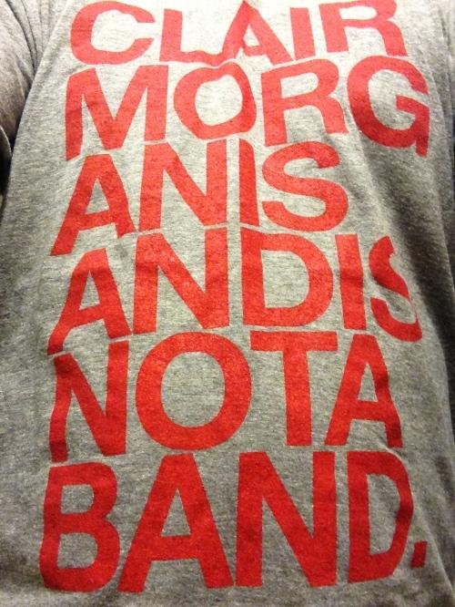 Clair Morgan shirt
