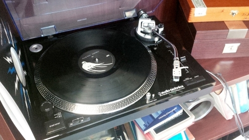 Bill's turntable