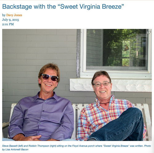 Sweet Virginia Breeze