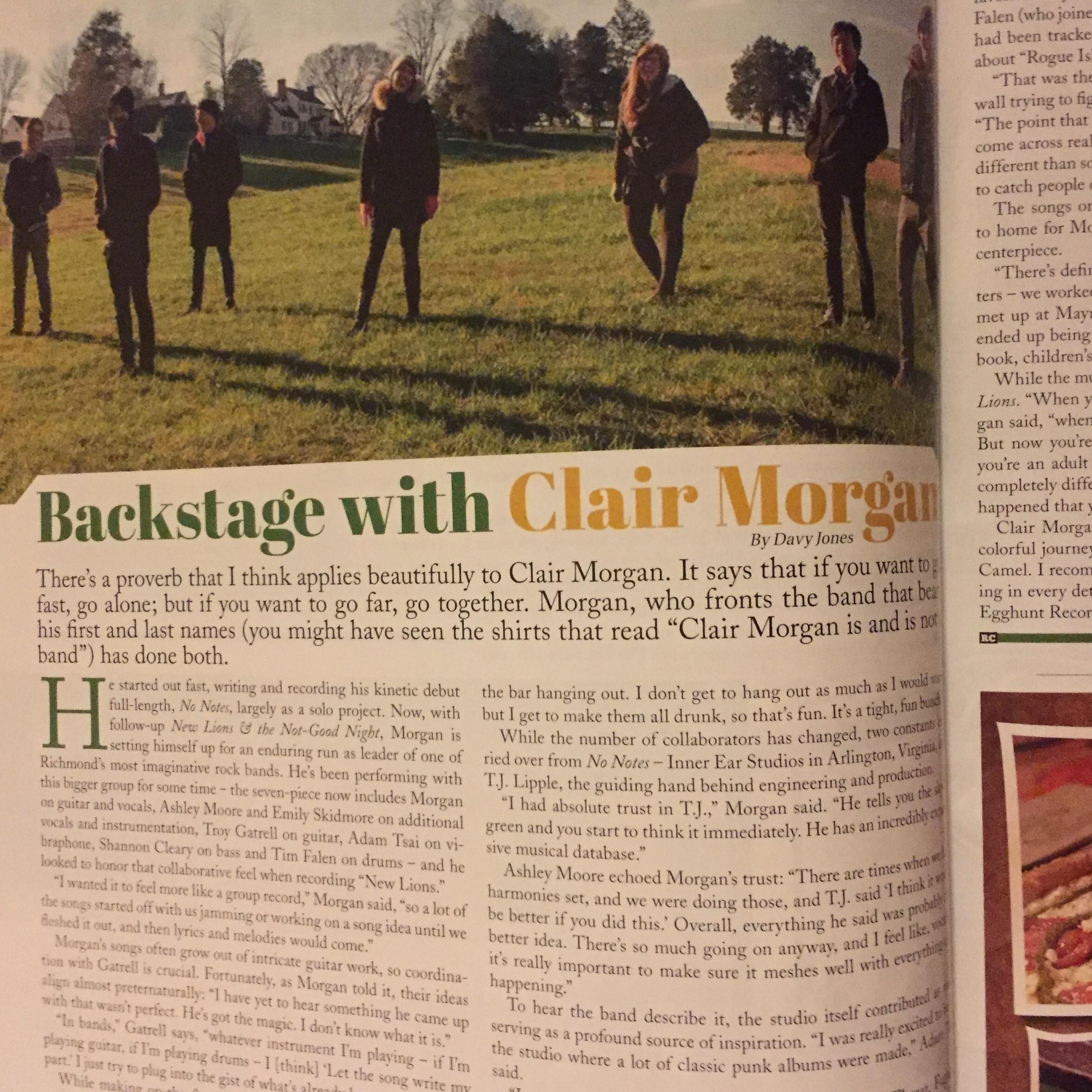 Clair Morgan | You hear that?!?